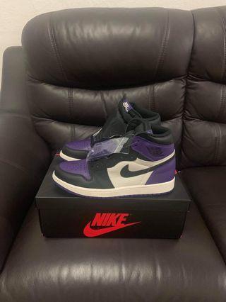 🚚 Air Jordan 1 Court Purple