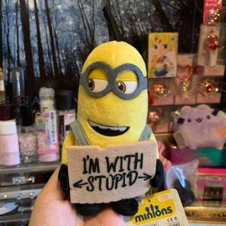 MINION Despicable 3 I'm With Stupid