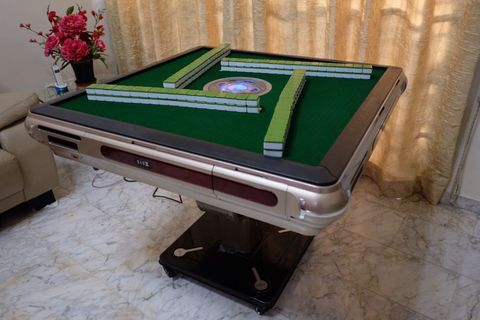 Groovy Auto Mahjong Table Mens Fashion Carousell Singapore Download Free Architecture Designs Sospemadebymaigaardcom