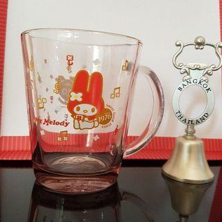 🚚 美樂蒂玻璃水杯