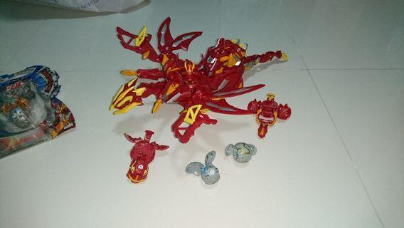 🚚 Bakugan dragonoid extreme combiners robot