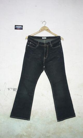 TOPVALU BOOT CUT JEANS