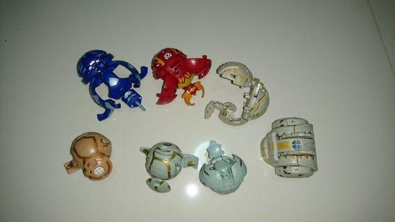 🚚 Bakugan lot robots transformers