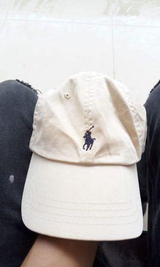 Topi Polo caps leather kulit
