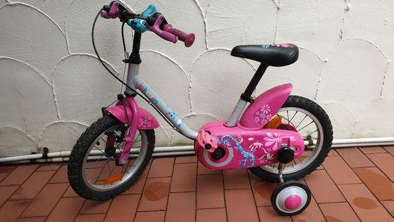 🚚 Kids Bicycle 3 to 5y old btwin 14 inch