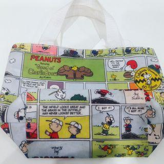 Celebrate Peanuts 60 Years Tote Lunch bag Collections