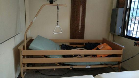 Bed nursing Dali Ii & air ripple overlay matters entrina carilrx w pump