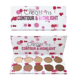 Beauty Creations Contour & Highlight Palette