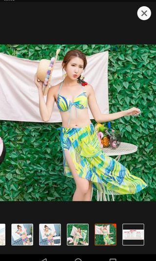 Skadi Korean Style 3n1 Swimwear