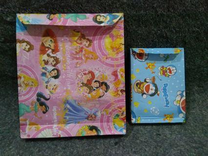 Paper Bag Motif Doraemon, Princess, dll