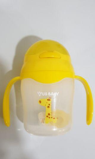 Yus baby - straw bottle