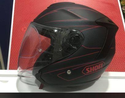 Shoei J Force lV Moderno Red - Black size XL 61-62cm