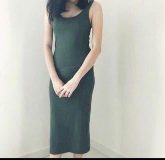 H&M Divided Maxi Dress
