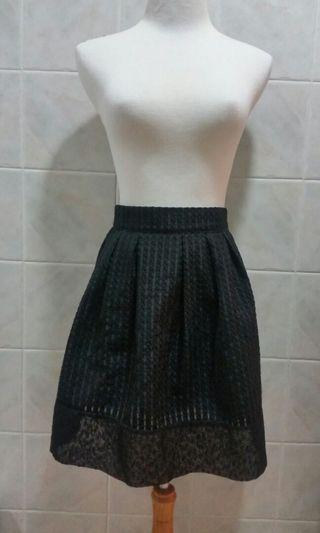 Korea 黑半截裙 斯文裙 OL返工 禮服裙