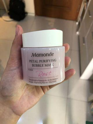 Petal Purifying Bubble Mask Mamonde