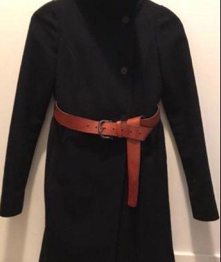 ❗️PRICE DROP❗️ Aritzia wool black coat xxs