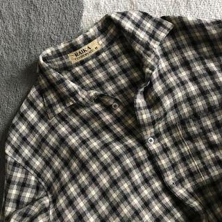 Vintage Checker Blouse
