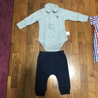 [Preloved] Baby Romper and Pants