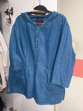 丹寧外套(可以當襯衫)7分袖 好搭✨