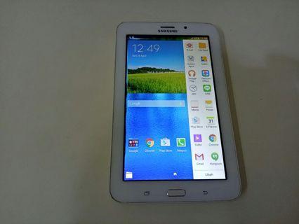 Samsung Galaxy Tab 3V hp dan carger