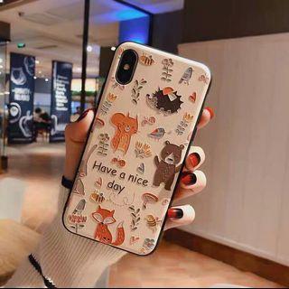 可愛動物浮雕 手機殼 iphone手機殼 型號6至xs皆有喔!