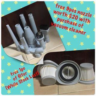 #ENDGAMEyourExcess 2 in 1 Portable Vacuum Cleaner