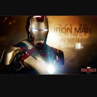 Sideshow Collectibles - Iron Man Mark 42 Life-Size Bust