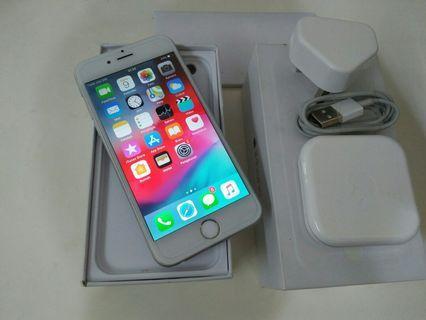 iPhone 6 16gb silver fullset original ex.iBox