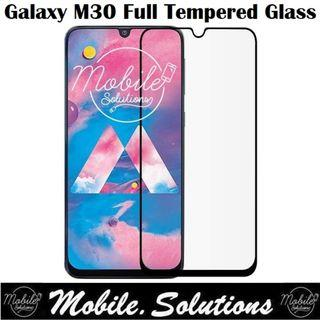 Samsung M30 Full Coverage Tempered Glass Screen Protector