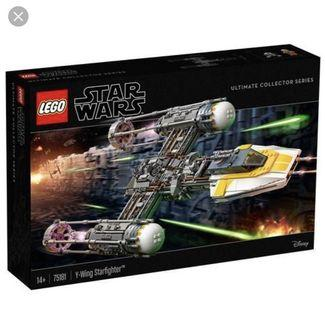 Lego Star Wars 75181 UCS Y-Wing Starfighter