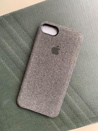 Canvas Case iPhone 7 / 8 Casing dark grey