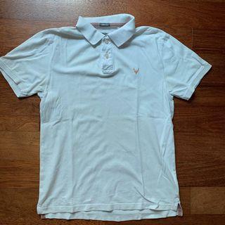 Men's Hallenstein white polo shirt