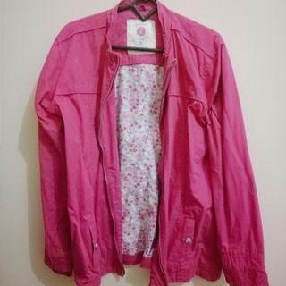 Jaket Gunung Pink