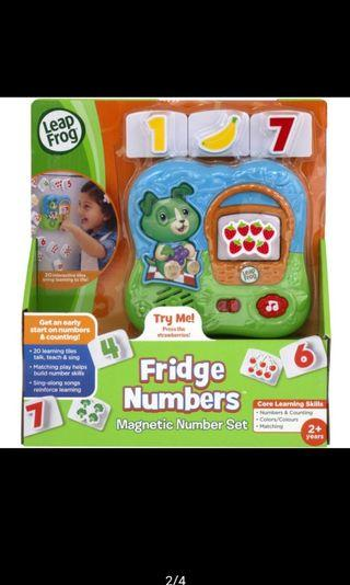 Leapfrog magnetic numbers