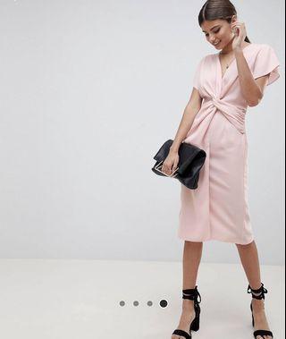 Asos 粉紅色裙