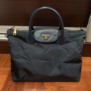 bb7e3c5a6bea BN2541 Prada Tessuto   Saffiano Tote Bag