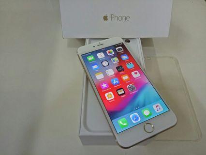 iPhone 6 plus 64gb Gold fullset original ex.iBox