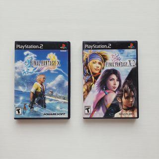 Playstation PS2 Final Fantasy X X-2 retro games #EST50