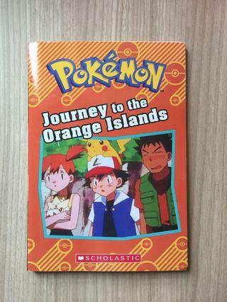 Scholastic Pokémon Journey to Orange Islands