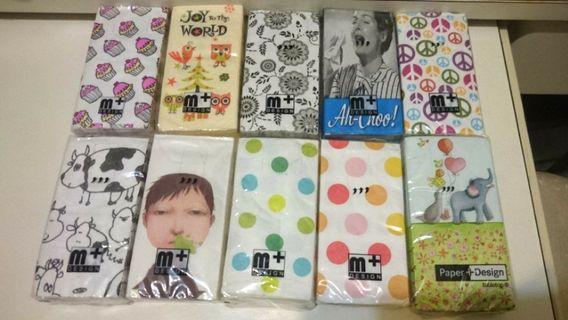 M+ 圖案紙巾 特別版 收藏