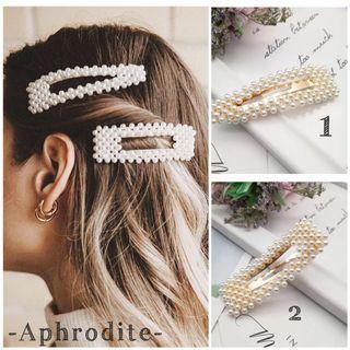 Ready Stock Jepit Rambut Hairclip Jepitan Rambut Korea Type Aphrodite