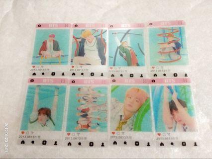 BTS through card