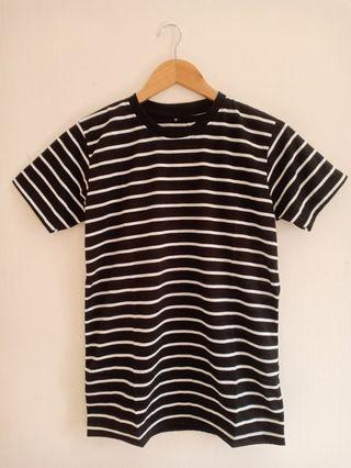 Kaos Stripe Black