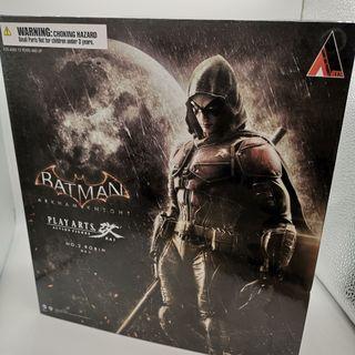 [ 全新未開封品 ] PLAYARTS Play Arts Kai 蝙蝠俠  Batman  阿卡漢騎士 Arkham knight Robin 羅賓