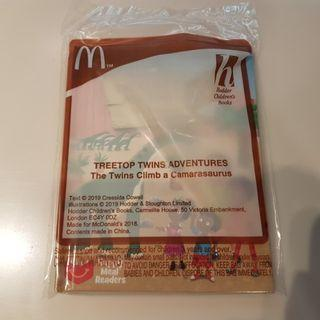 Brand New Mcdonalds Happy Meal Brand New Sealed Treetop Twins Adventures The Twins Climb A Camarasaurus Book