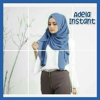 Adela Instant Shawl Hijab Tudung Muslimah