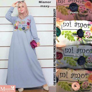 Dress mi amore ready grey.. tinggal grey aja..