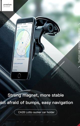 HOCO CA28 Suction Cup Magnetic Car Mount Stand