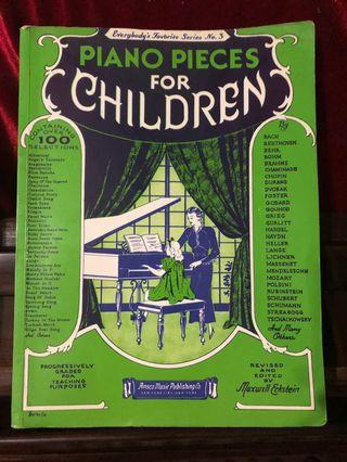 Children's Piano Pieces 鋼琴譜