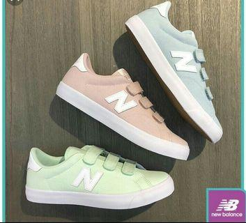 🚚 New balance 馬卡龍配色(藍)附鞋盒